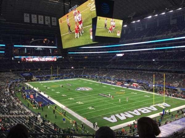 AT&T Stadium, secção: 327, fila: 3, lugar: 37