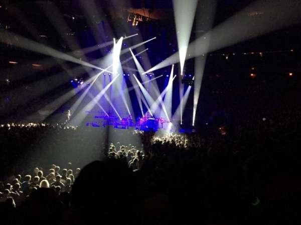 Madison Square Garden, secção: 105, fila: 7, lugar: 12