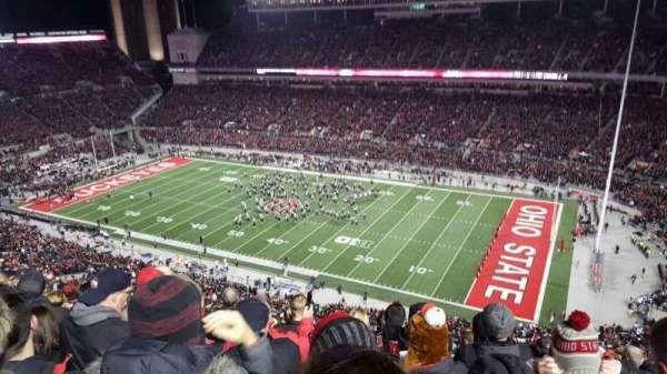 Ohio Stadium, secção: 16c