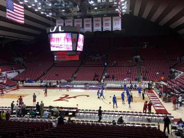 Coleman Coliseum, secção: P, fila: 22, lugar: 5
