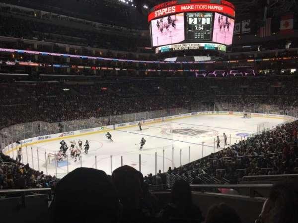 Staples Center, secção: PR9, fila: 6, lugar: 13