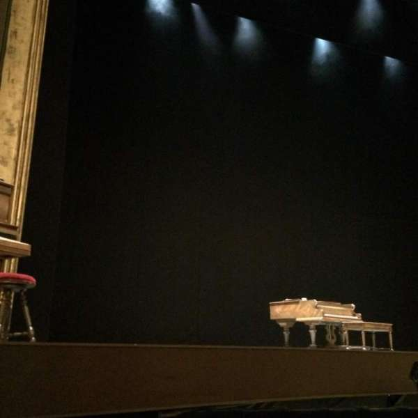 Palace Theatre (Broadway), secção: Orchestra, fila: C, lugar: 121