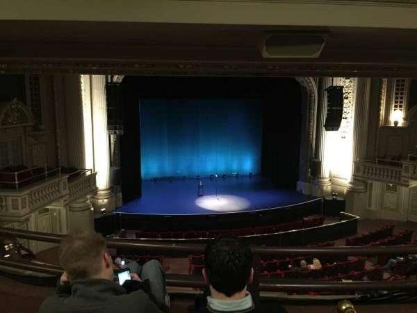 Majestic Theatre - Dallas, secção: Mezzanine Box S, fila: C, lugar: 3