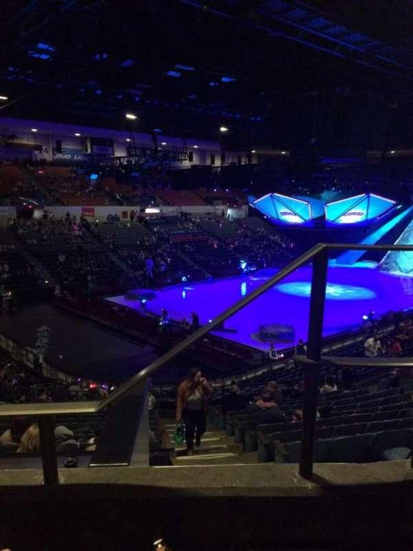 Pechanga Arena, secção: T17b, fila: 2, lugar: 1