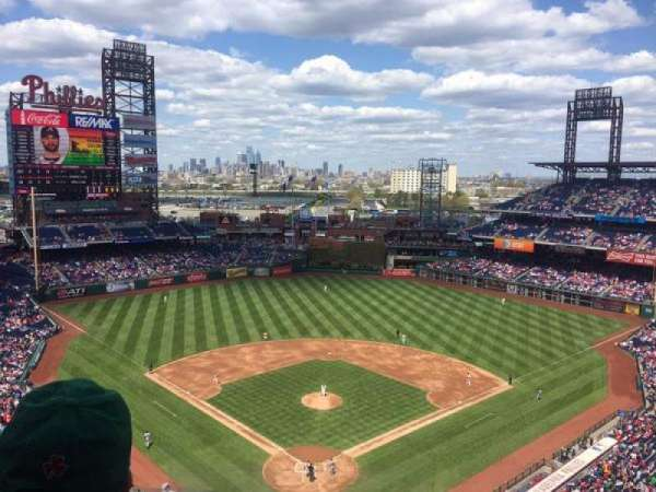 Citizens Bank Park, secção: 420, fila: 5, lugar: 16