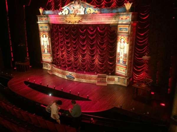 Walter Kerr Theatre, secção: Mezzanine R, fila: B, lugar: 14