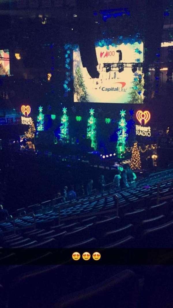 Madison Square Garden, secção: 106, fila: 21, lugar: 9
