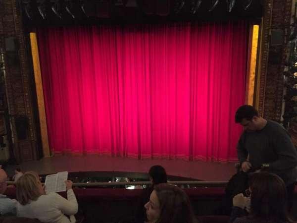 Palace Theatre (Broadway), secção: Mezz, fila: C, lugar: 113
