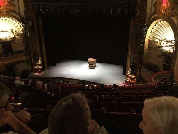Palace Theatre (Broadway), secção: Mezz, fila: J, lugar: 128