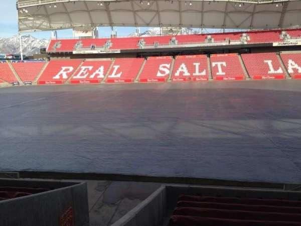 Rio Tinto Stadium, secção: 19, fila: p, lugar: 14