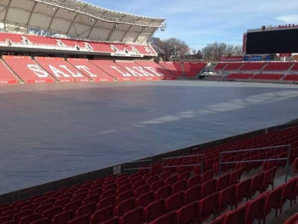 Rio Tinto Stadium, secção: 23, fila: p, lugar: 14