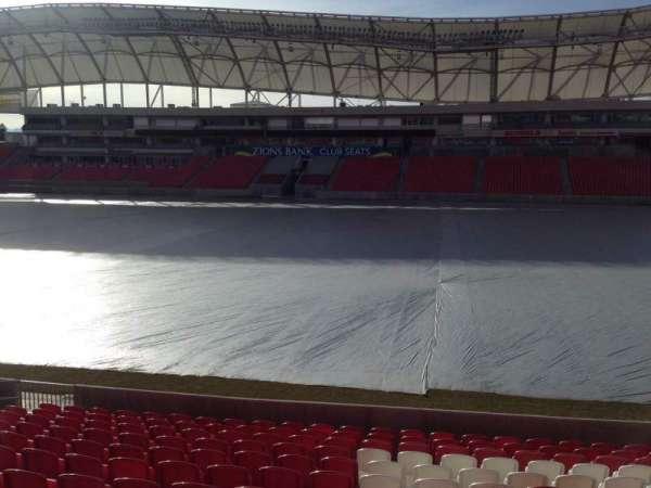 Rio Tinto Stadium, secção: 36, fila: p, lugar: 15