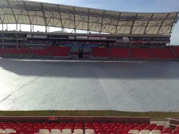 Rio Tinto Stadium, secção: 1, fila: p, lugar: 15