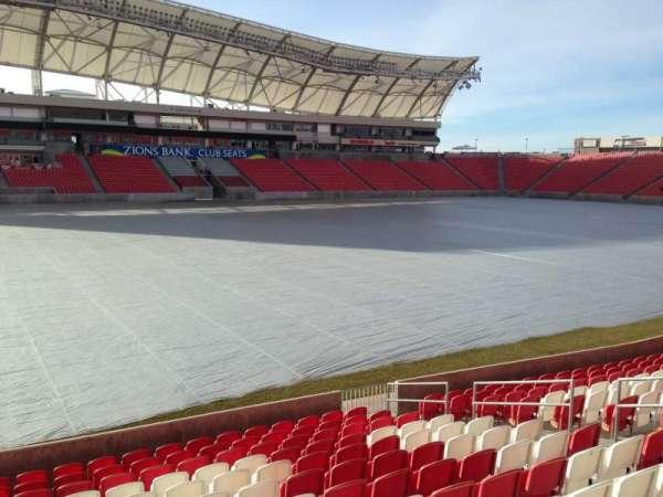 Rio Tinto Stadium, secção: 4, fila: p, lugar: 15