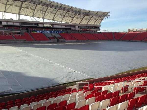 Rio Tinto Stadium, secção: 5, fila: p, lugar: 14
