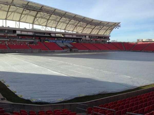 Rio Tinto Stadium, secção: 6, fila: p, lugar: 10