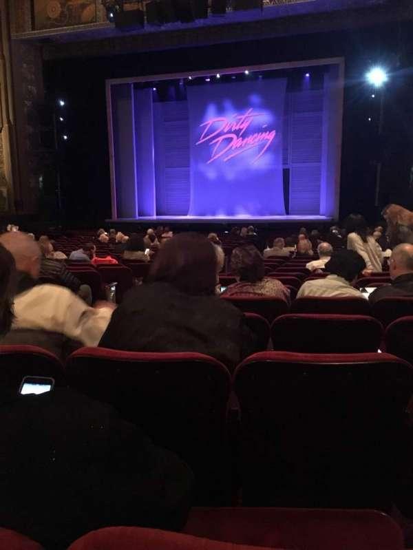 Hollywood Pantages Theatre, secção: Orchestra RC, fila: X, lugar: 203