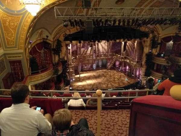 Richard Rodgers Theatre, secção: Rear Mezzanine L, fila: J, lugar: 13