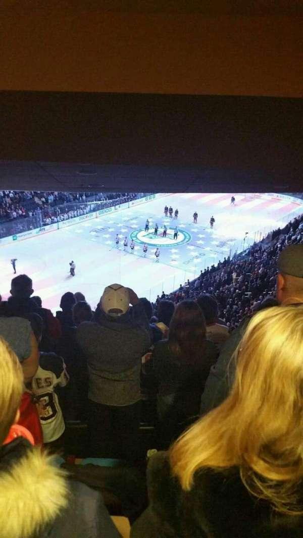 Madison Square Garden, secção: 420, fila: 7, lugar: 6
