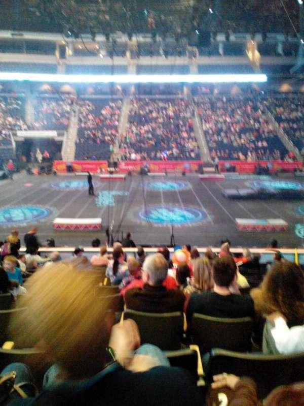 Infinite Energy Arena, secção: 104, fila: M, lugar: 11