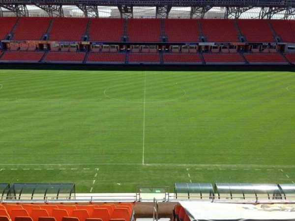 BBVA Stadium, secção: 206B, fila: B, lugar: 10