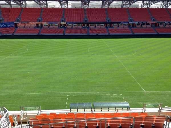 BBVA Stadium, secção: 206C, fila: B, lugar: 10