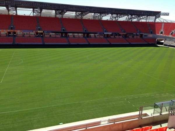 BBVA Stadium, secção: 208, fila: H, lugar: 15