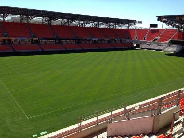 BBVA Stadium, secção: 210, fila: J, lugar: 7