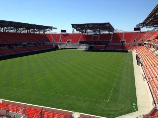 BBVA Stadium, secção: 213, fila: J, lugar: 18