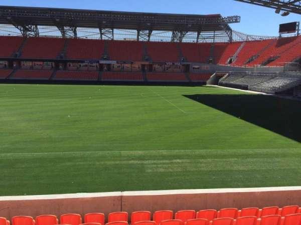 BBVA Stadium, secção: 104, fila: H, lugar: 15