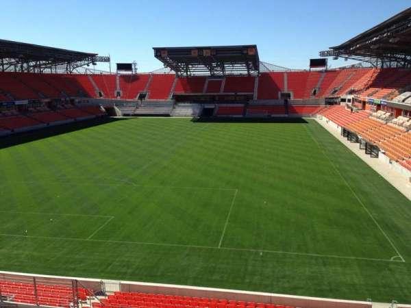 BBVA Stadium, secção: 214, fila: J, lugar: 8