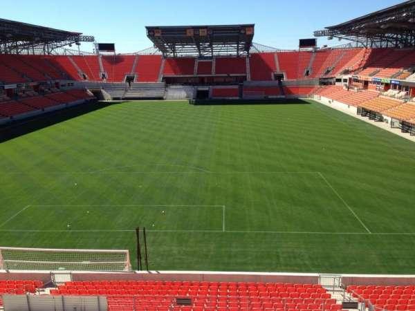 BBVA Stadium, secção: 215, fila: D, lugar: 14