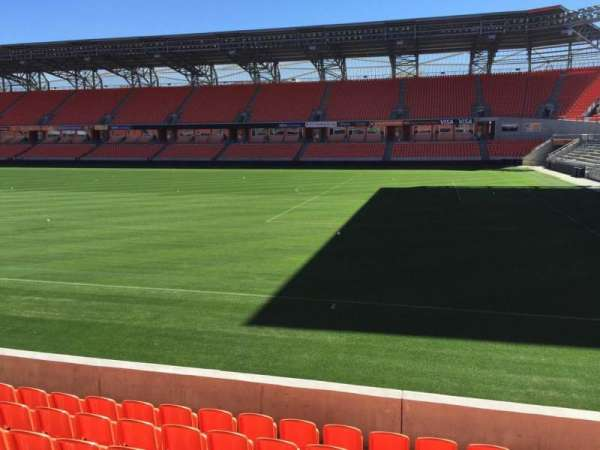 BBVA Stadium, secção: 103, fila: H, lugar: 15