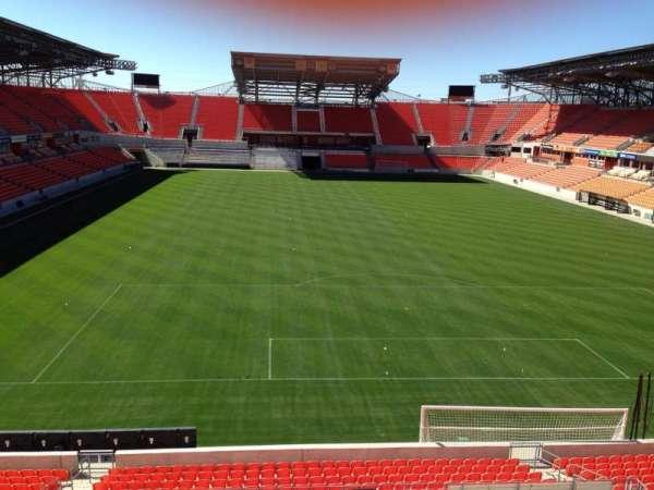 BBVA Stadium, secção: 217, fila: D, lugar: 14