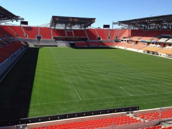 BBVA Stadium, secção: 218, fila: J, lugar: 8