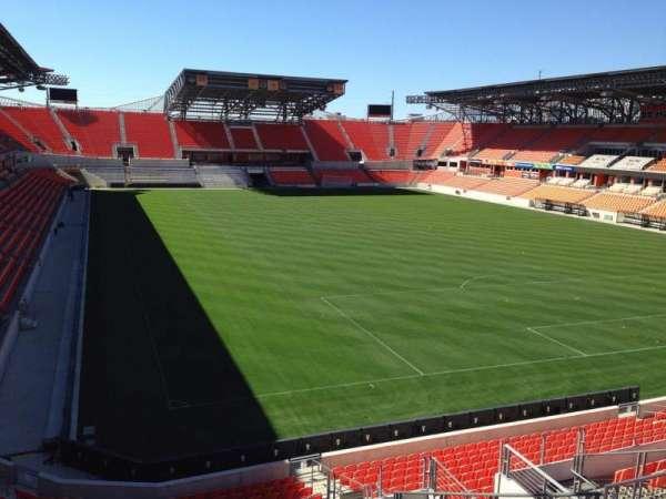 BBVA Stadium, secção: 219, fila: J, lugar: 12