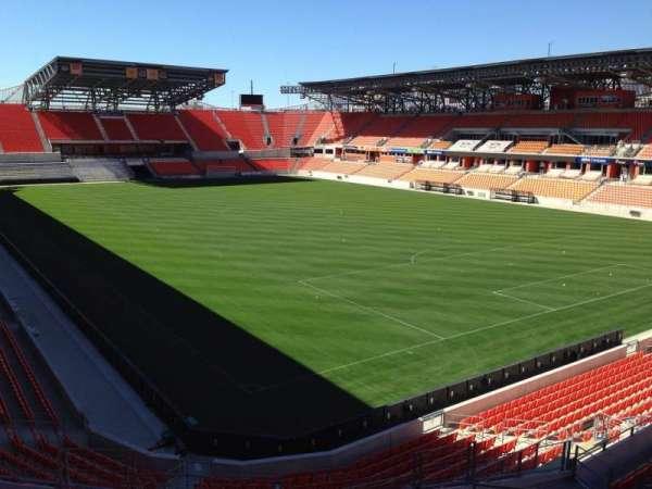 BBVA Stadium, secção: 220, fila: J, lugar: 11