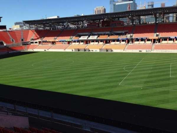 BBVA Stadium, secção: 223, fila: 15, lugar: j