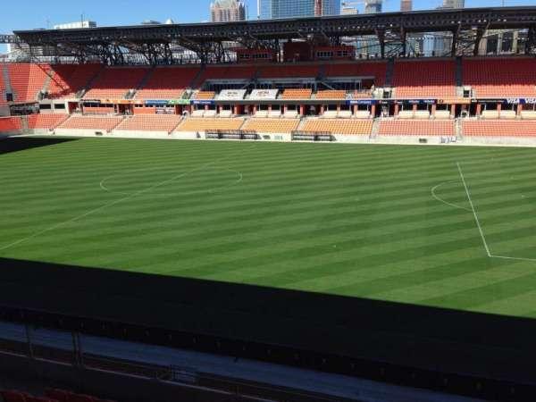 BBVA Stadium, secção: 224, fila: J, lugar: 15