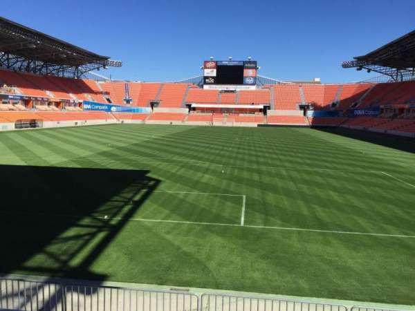 BBVA Stadium, secção: 135, fila: F, lugar: 15