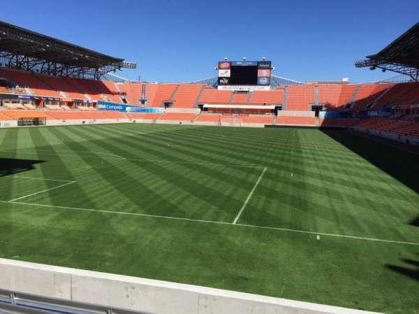 BBVA Stadium, secção: 134, fila: F, lugar: 15