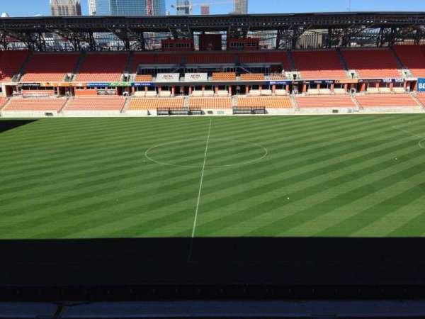 BBVA Stadium, secção: 226, fila: J, lugar: 15