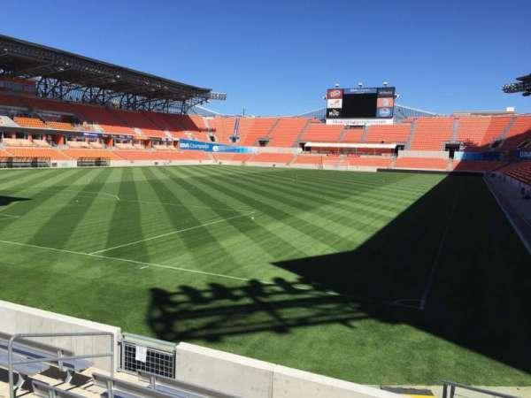 BBVA Stadium, secção: 133, fila: F, lugar: 8