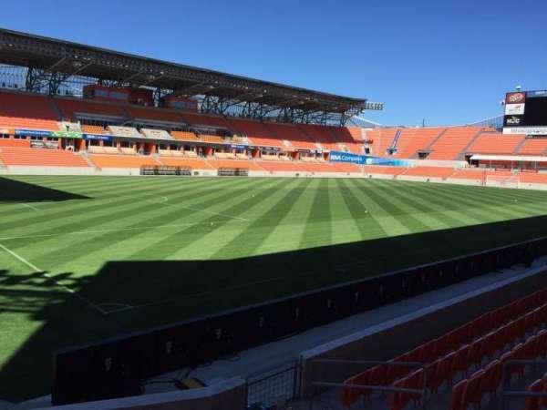 BBVA Stadium, secção: 130, fila: F, lugar: 6