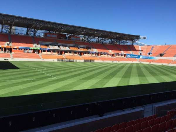BBVA Stadium, secção: 129, fila: F, lugar: 15