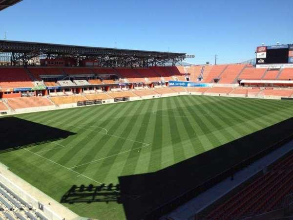 BBVA Stadium, secção: 231, fila: J, lugar: 9