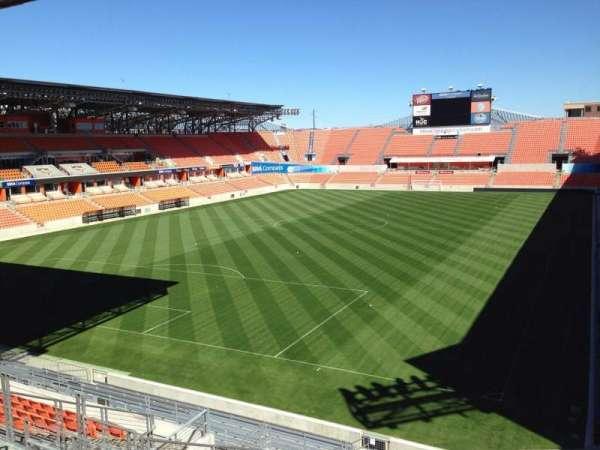 BBVA Stadium, secção: 233, fila: J, lugar: 11