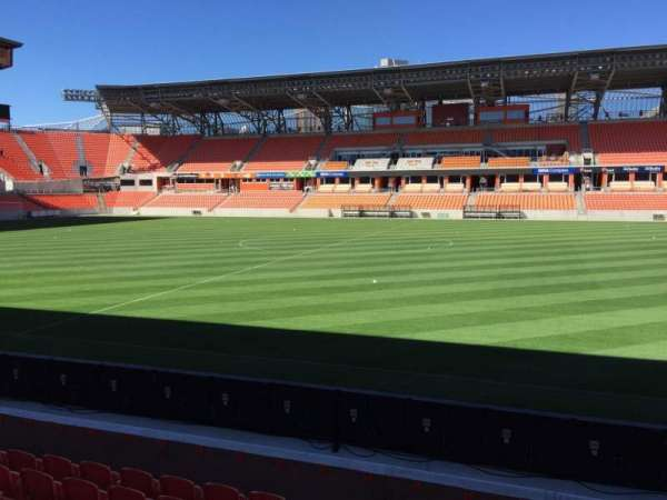 BBVA Stadium, secção: 125, fila: F, lugar: 15