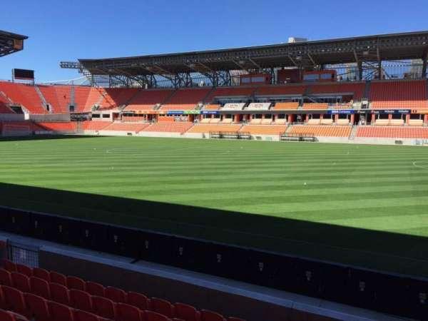 BBVA Stadium, secção: 124, fila: F, lugar: 15