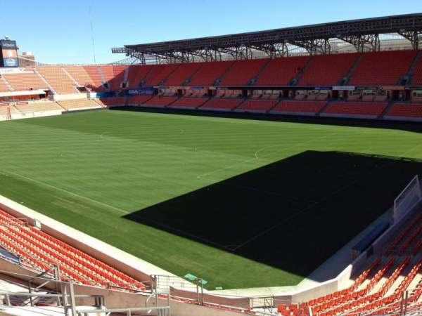 BBVA Stadium, secção: 201, fila: J, lugar: 11